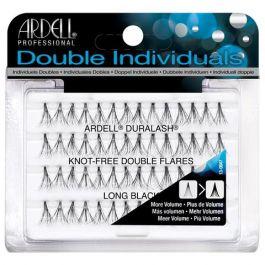 Ardell Double Individuals (W) kępki sztucznych rzęs bez węzełków Long Black