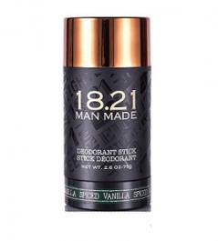 18.21 Man Made Deodorant Spiced Vanilla dezodorant w sztyfcie dla mężczyzn 75g