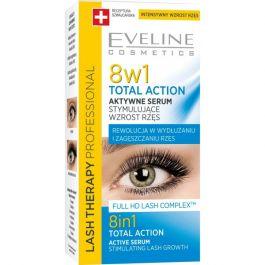Eveline Cosmetics Lash Therapy Professional 8w1 Total Action (W) serum stymulujące wzrost rzęs 3ml