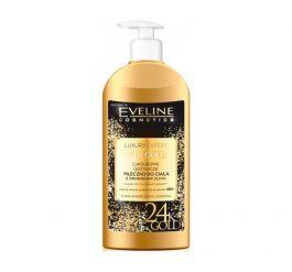 Eveline Cosmetics Luxury Expert 24K Gold (W) mleczko do ciała z drobinkami złota 350ml