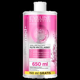 Eveline Cosmetics Facemed+ (W) hialuronowy płyn micealrny 650ml