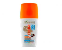 Bielenda Bikini SPF50 (W) kokosowe mleczko do opalania w sprayu 150ml
