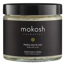 Mokosh (W) peeling solny do ciała Zielona Kawa z Tabaką 300g
