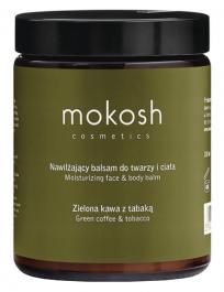 Mokosh (W) nawilżający balsam do twarzy i ciała Zielona Kawa z Tabaką 180ml