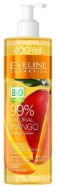 Eveline Cosmetics 99% Natural Mango (W) rozświetlająco - odżywczy żel do twarzy i ciała 400ml