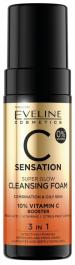 Eveline Cosmetics C Sensation (W) oczyszczająca pianka do mycia twarzy 150ml