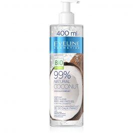 Eveline Cosmetics 99% Natural Coconut (W) łagodząco - rewitalizujący żel do ciała i twarzy 400ml