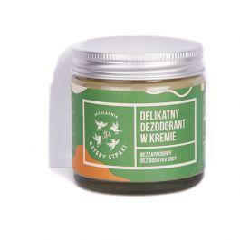 Mydlarnia Cztery Szpaki (W) delikatny dezodorant w kremie bezzapachowy 60ml