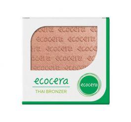 Ecocera (W) wegański prasowany bronzer do twarzy Thai 10g