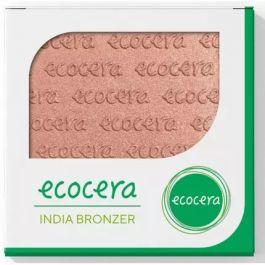 Ecocera (W) wegański prasowany bronzer do twarzy India 10g