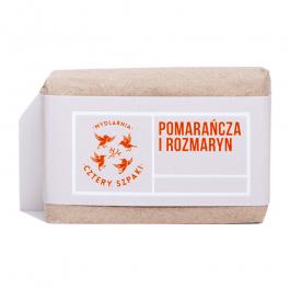 Mydlarnia Cztery Szpaki (W) naturalne mydło Pomarańcza i Rozmaryn 110g