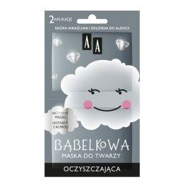 AA Chmurka bąbelkowa (W) oczyszczająca maska do twarzy 8g