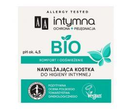 AA Intymna Bio (W) nawilżająca kostka do higieny intymnej 80g