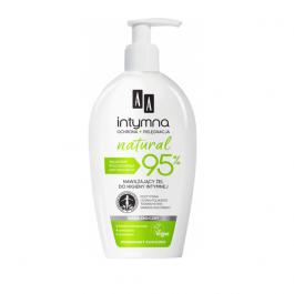 AA Intymna Natural 95% (W) nawilżający żel do higieny intymnej 300ml