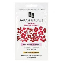 AA Japan Rituals (W) kremowa maska regenerująco-wzmacniająca 2x4ml