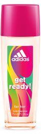 Adidas Get Ready dezodorant z atomizerem dla kobiet 75ml