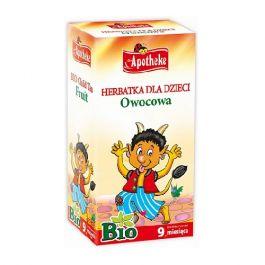 Apotheke herbatka dla dzieci owocowa BIO 40 g (20x 2 g)