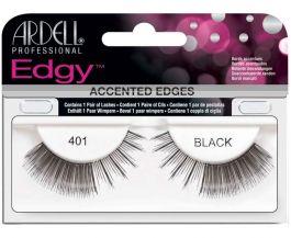 Ardell Edgy 401 Black (W) sztuczne rzęsy