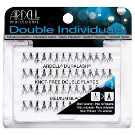 Ardell Professional Double Individuals (W) kępki sztucznych rzęs Medium Black 56szt