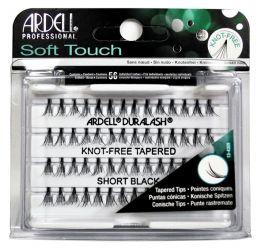 Ardell Soft Touch Short (W) kępki sztucznych rzęs bez węzełków 56szt