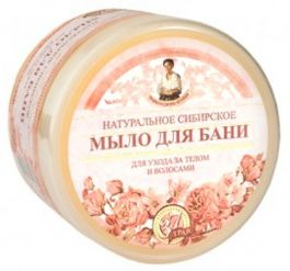 Babuszka Agafia (W) kwiatowe mydło do ciała i włosów 500ml