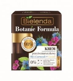Bielenda Botanic Formula Olej z Czarnuszki + Czystek (W) Krem przeciwzmarszczkowy dzień/noc 50ml