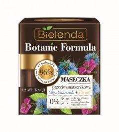 Bielenda Botanic Formula Olej z Czarnuszki + Czystek (W) Maseczka przeciwzmarszczkowa 50ml