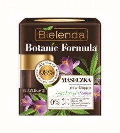 Bielenda Botanic Formula Olej z Konopi + Szafran (W) Maseczka nawilżająca 50ml