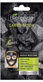 Bielenda Carbo Detox (W) oczyszczająca maska węglowa do cery mieszanej i tłustej 8g