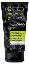 Bielenda Carbo Detox (W) pasta węglowa do mycia twarzy 3w1 150g