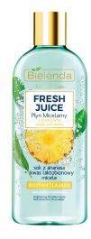 Bielenda Fresh Juice Ananas (W) Rozświetlający płyn micelarny 500ml