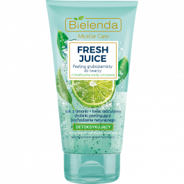 Bielenda Fresh Juice Limonka (W) Detoksykujący peeling gruboziarnisty 150g