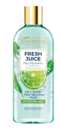 Bielenda Fresh Juice Limonka (W) Detoksykujący płyn micelarny 500ml