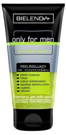 Bielenda Only For Men Super Mat (M) peelingująco-oczyszczający żel pod prysznic 150ml