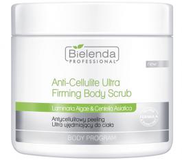 Bielenda Professional Anti-Cellulite Ultra Firming Body Scrub (W) antycellulitowy peeling do ciała ultra ujędrniający 550g