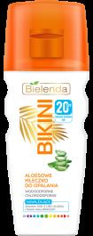 Bielenda Bikini SPF20 (W) aloesowe mleczko do opalania 200ml