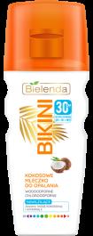 Bielenda Bikini SPF30 (W) kokosowe mleczko do opalania 200ml