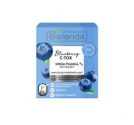 Bielenda Blueberry C-TOX (W) krem pianka do twarzy nawilżająco-rozświetlający 40g
