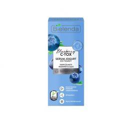 Bielenda Blueberry C-TOX (W) serum jogurt do twarzy nawilżająco rozświetlające 30ml