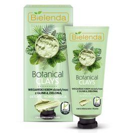 Bielenda Botanical Clays Zielona Glinka (W) wegański krem na dzień i noc 50ml