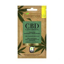 Bielenda CBD Cannabidiol (W) nawilżająco-detoksykująca maseczka do twarzy 8g