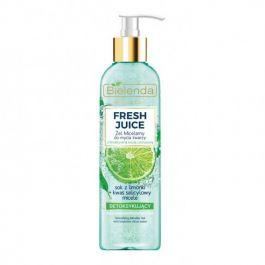 Bielenda Fresh Juice Limonka (W) Detoksykujący żel micelarny 190g