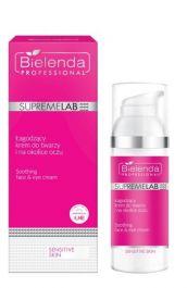 Bielenda Professional SupremeLab Sensitive Skin (W) łagodzący krem dotwarzy i okolic oczu 50ml