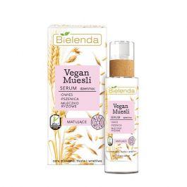 Bielenda Vegan Muesli (W) serum matujące do twarzy Owies, Pszenica, Mleczko Ryżowe 50ml