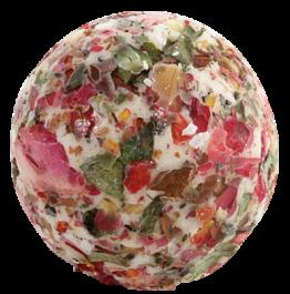 Bomb Cosmetics Bath Creamer (W) kremowa kuleczka do kąpieli Flower Bazaar 30g