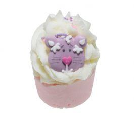 Bomb Cosmetics Top Cat Bath Mallow (W) babeczka do kąpieli Mandarynkowy kot 50g