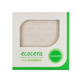 Ecocera (W) wegański prasowany puder rozświetlający do twarzy Fiji 10g