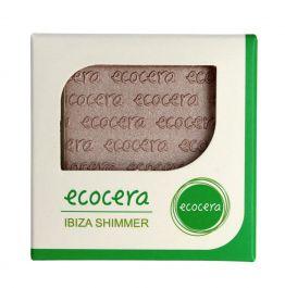 Ecocera (W) wegański prasowany puder rozświetlający do twarzy Ibiza 10g