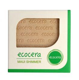 Ecocera (W) wegański prasowany puder rozświetlający do twarzy Maui 10g