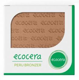 Ecocera (W) wegański prasowany bronzer do twarzy Peru 10g